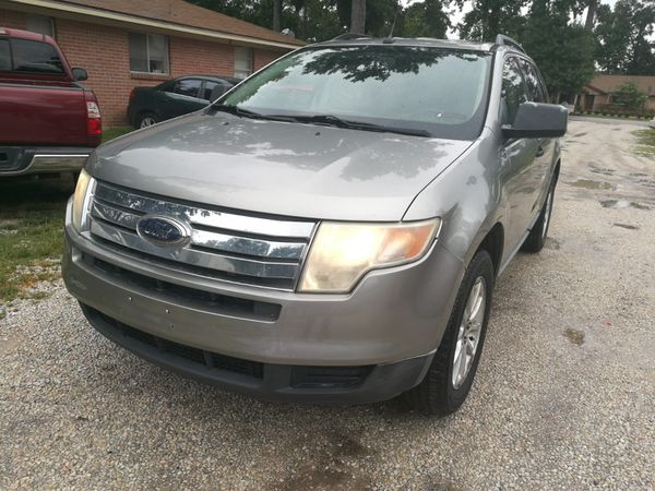 Ford Edge Clean Title Neat Interior Aloy Rims K Miles Car Runs Perfect With No Issues Cars Trucks In Spring Tx Offerup