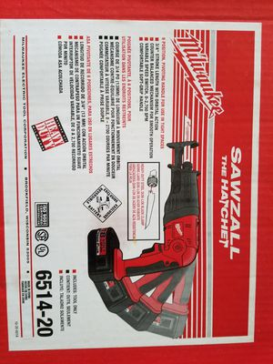 Milwaukee 18volt sawzall Tool only. for Sale in Vancouver, WA