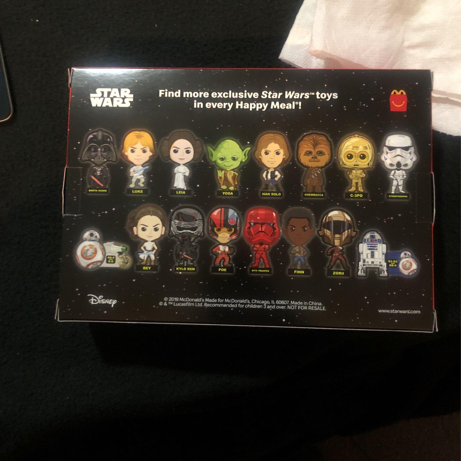 McDonald's Star Wars Darkside Saugus collection