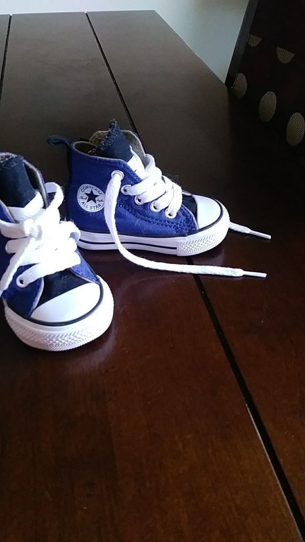77819dd8adc383 Baby boy high top converse for Sale in Beaverton