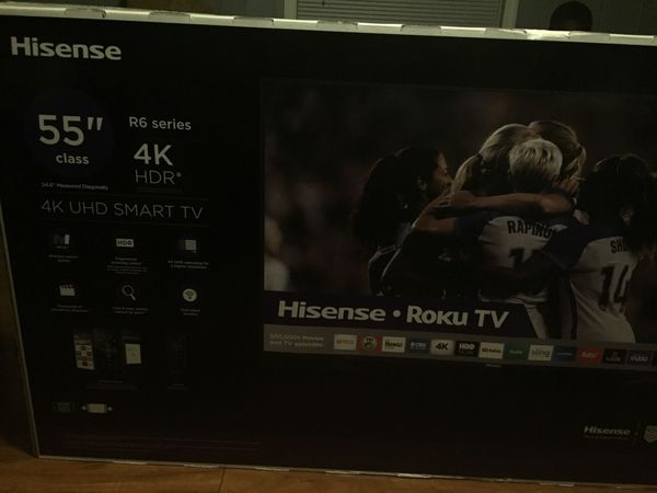 55 inch smart tv, Hisense for Sale in East Point, GA - OfferUp
