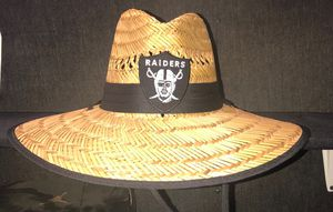 Raiders straw hats any team for Sale in Ontario d9e6b5db361a