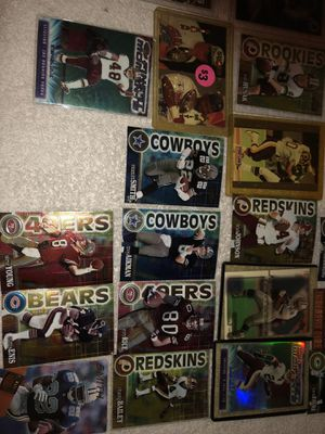 Football collector cards! Some rookies. Make offer on all only. Will be posting more later! Lots of Micheal Jordan cards! for Sale in Round Hill, VA