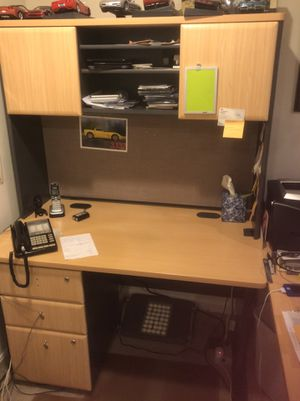 3 pc desk and chair for Sale in Rockville, MD