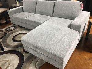 Grey sectional sofa couch!!Brand new free delivery for Sale in Chicago, IL