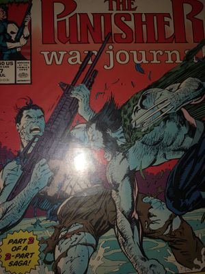 The Punisher War Journal #7 guest starring Wolverine for Sale in East Los Angeles, CA