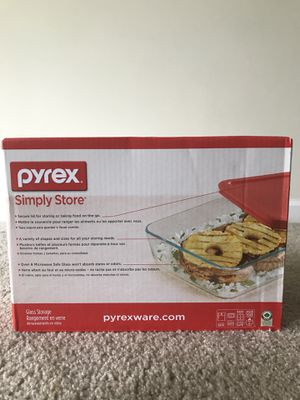 Pyrex 22 Piece Food Storage Container Set - New for Sale in Herndon, VA
