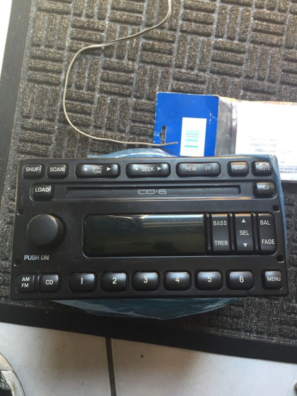 Late Model Ford Radio For Sale In Houston Tx Offeruprhofferup: Oem Radios In Houston Texas At Gmaili.net