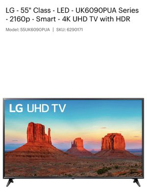 """LG 55"""" Smart TV for Sale in Tampa, FL"""