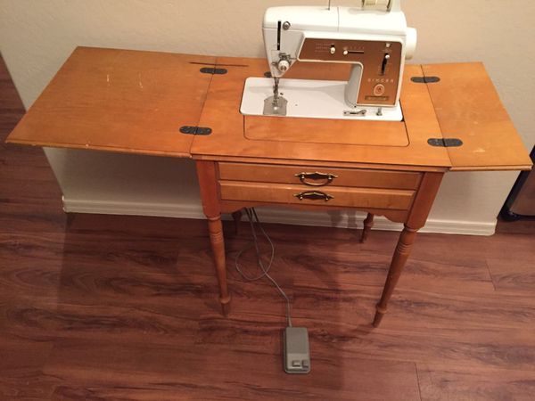 Vintage 40s Singer Touch Sew Model 40 Sewing Machine Cabinet Enchanting Singer Sewing Machine Cabinet 1960