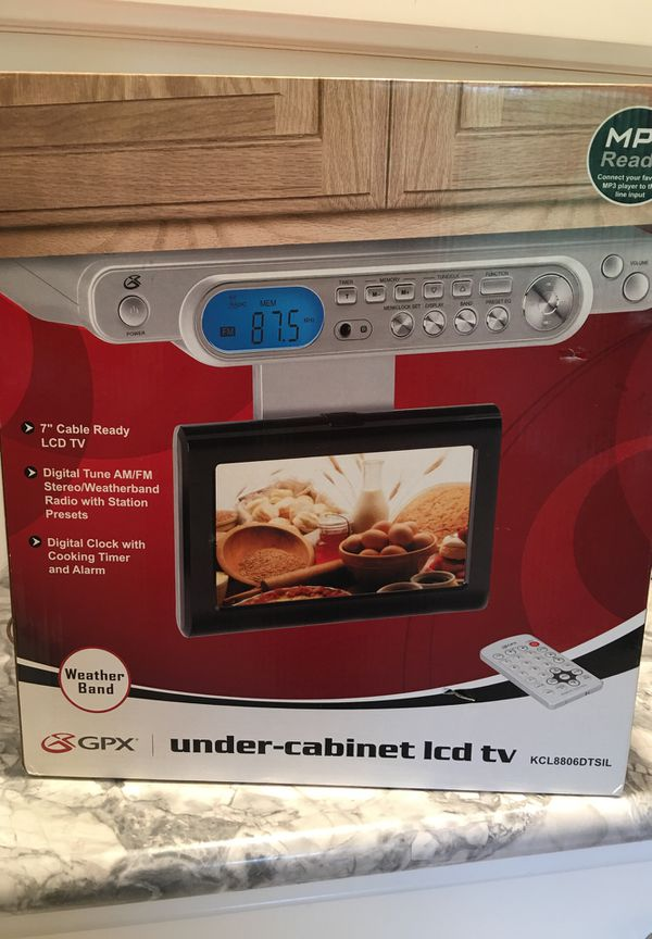 Awesome Lcd Tv Radio Clock For Kitchen Under Cabinet For Sale In Normandy Park Wa Offerup Download Free Architecture Designs Griteanizatbritishbridgeorg
