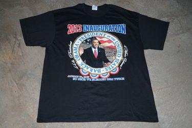 2013 Presidential Inauguration T-Shirt Size XL Thumbnail