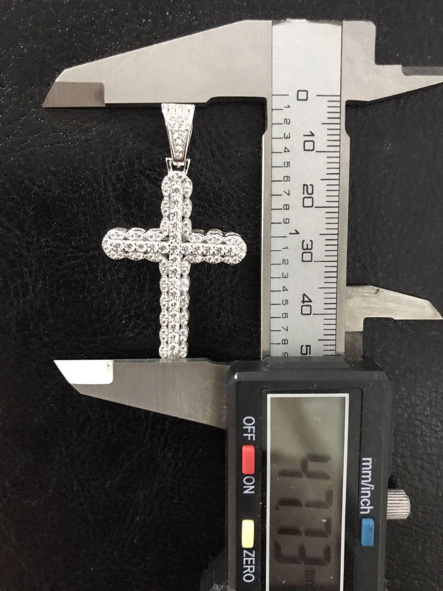 925 Sterling Silver Cross Pendant
