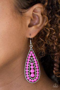 Hot Pink Earrings Thumbnail