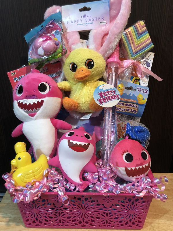Baby Shark Easter Basket 30firm Pick Up In Santa Ana For