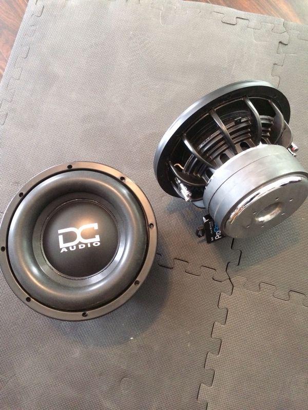 Dc Audio Level 3 10 M2 1 D4 1800w Peak Series Version Dual 4 Ohm Car Subwoofer M2lv310d4