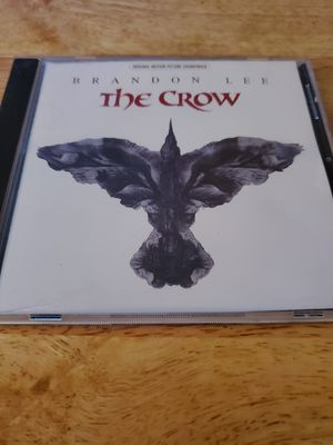 Photo Like New The Crow Movie Soundtrack CD. Must Pick Up. Shipping Available.