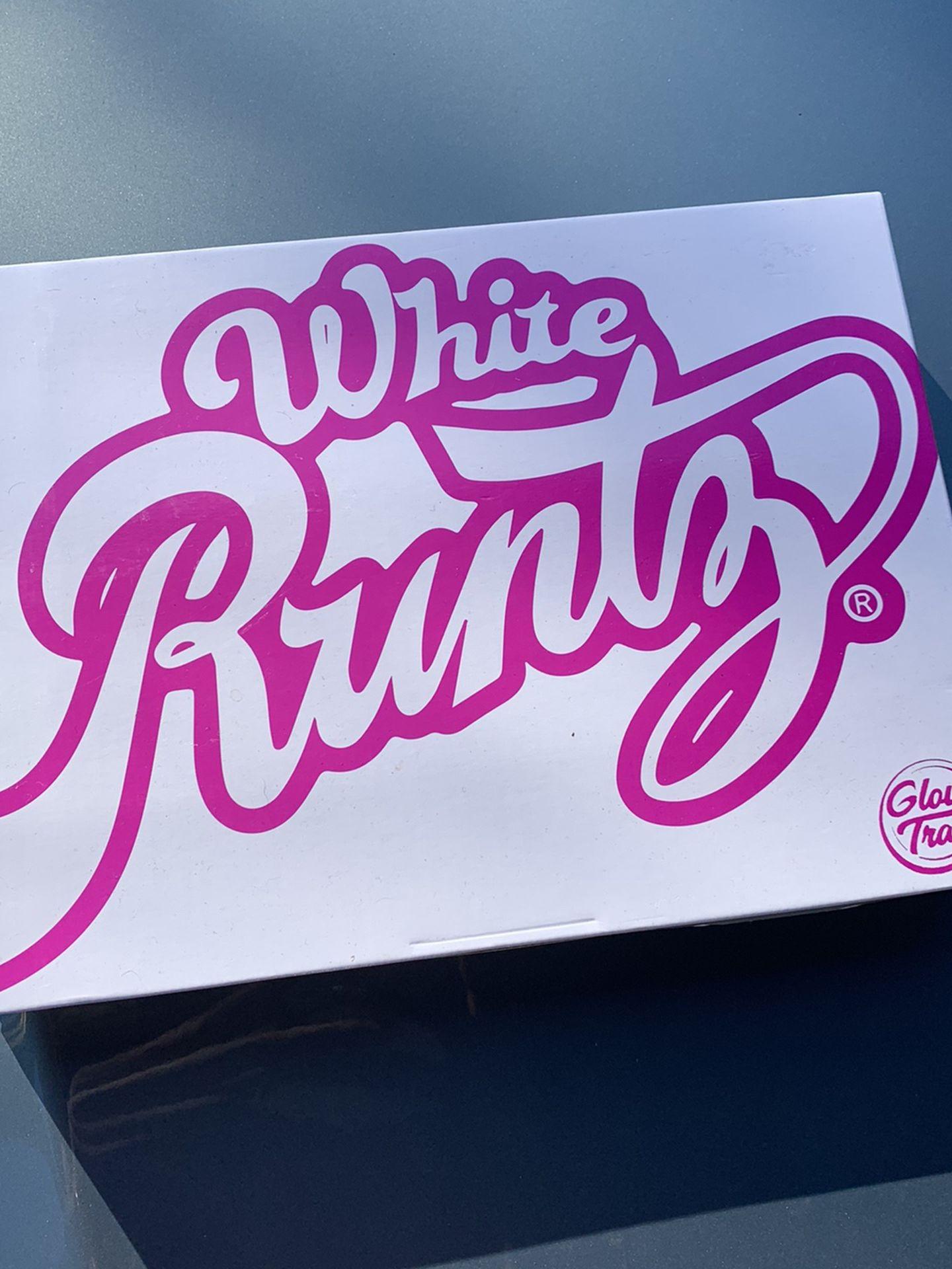 White Runts Glow Tray