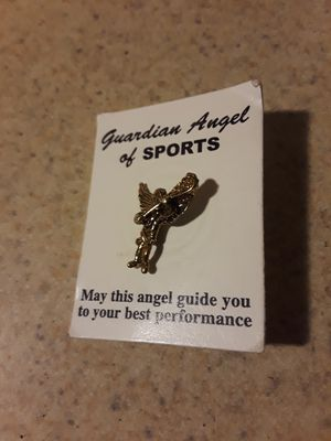 Guardian Angel of Sports pin for Sale in Commerce City, CO