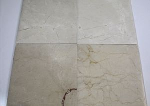 "Crema Marfil Pillowed Edge Marble 12""x12"" for Sale in Boston, MA"