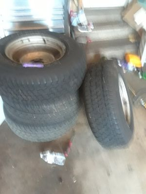 6 lug Chevy ralley sport tires and rims for Sale in Leesburg, VA