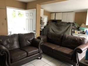 New and Used Leather sofas for Sale in East Los Angeles, CA ...