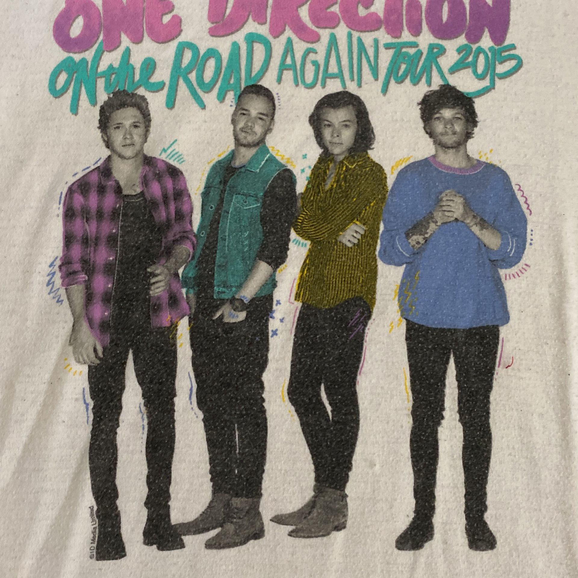 One Direction On The Road Again 2015 Nightie