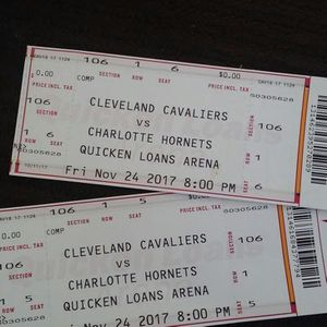 Cavs tickets (200) a piece front row seat for Sale in Cleveland, OH