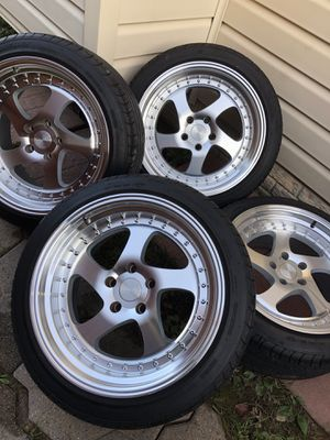 """18"""" ESR Wheels and Tires 5x114.3 for Sale in Laurel, MD"""