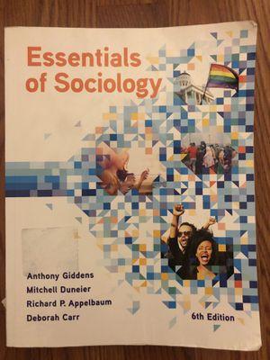 Essentials of Sociology Soc 101 book for Sale in Cinnaminson, NJ
