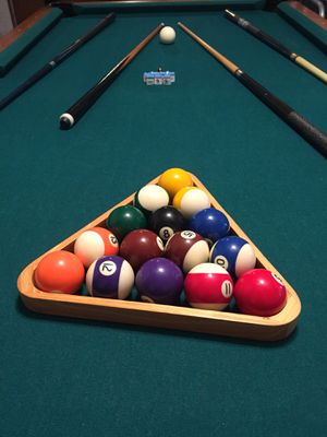 Pool Table For Sale Only Left At - Showood pool table