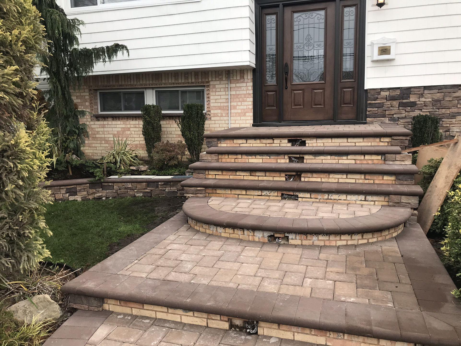 New Steps Stone Pavers Masonry Service