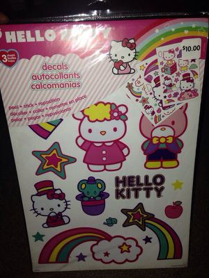 Hello Kitty/Wall stickers for Sale in Scottsdale, AZ