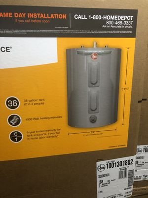 Water Heater (38 Gallon) for Sale in Greenbelt, MD
