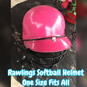 Rawlings - Softball Helmet ( one size fits all) for Sale in Dallas, TX