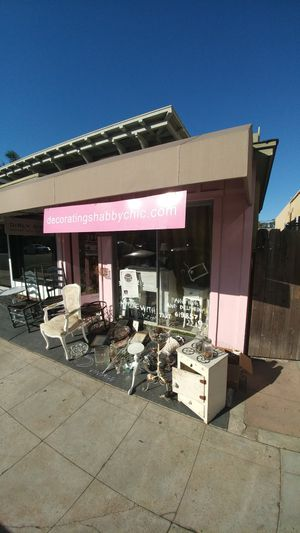 Shabby chic sale at girly girky today 50% off all furniture and mirrors for Sale in San Diego, CA