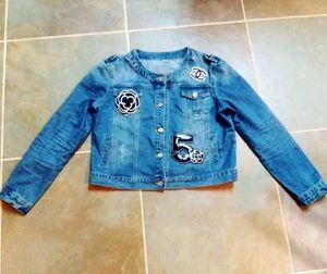 High Fashion Denim Jacket 13-14 for Sale in Silver Spring, MD