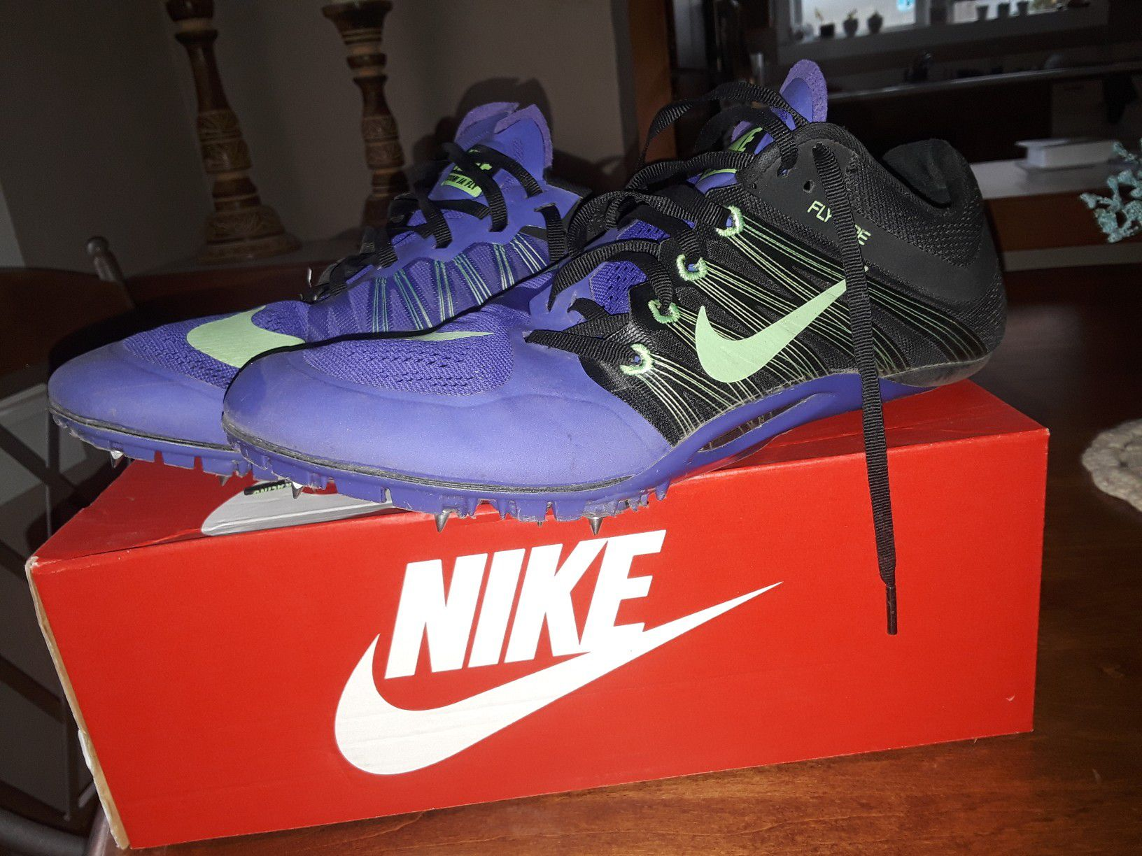 Nike track spikes size 10.5
