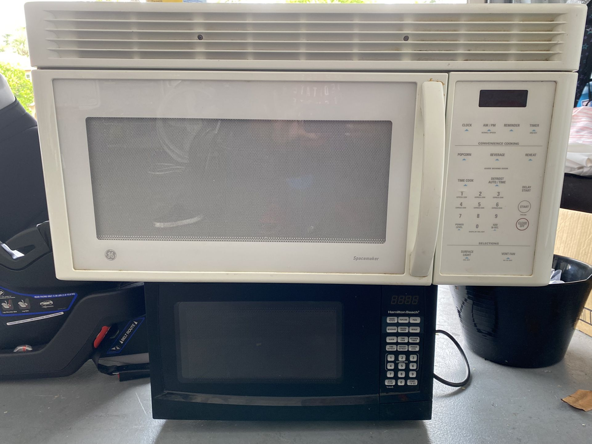 Oven, Dishwasher And Two Microwaves