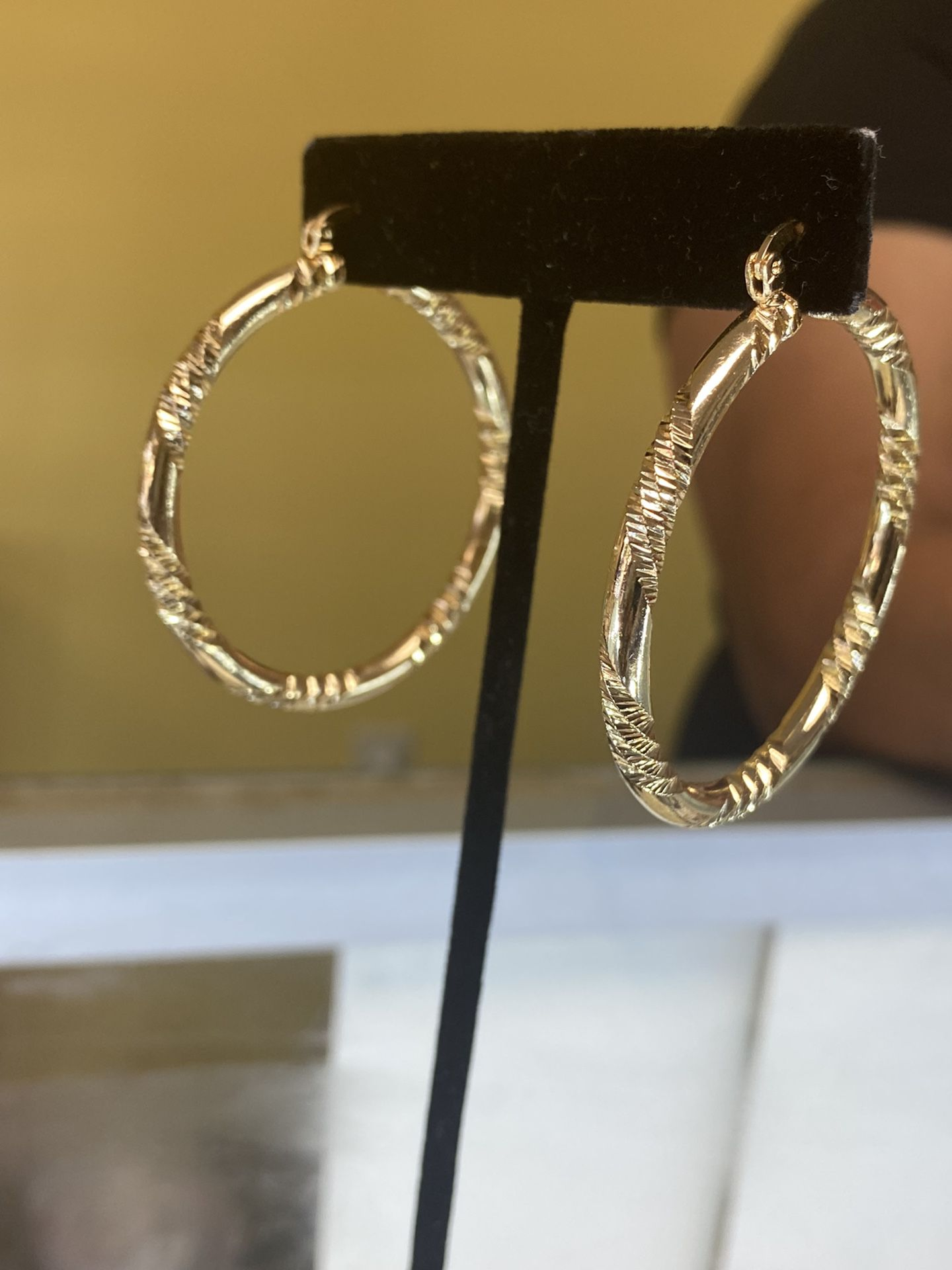 Hoop Earring Gold Filled