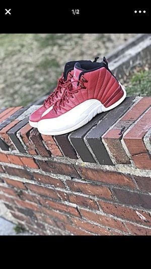 Jordan 12 size 8 gym red for Sale in Washington, DC