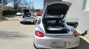2014-2016 Genuine Porsche Cayman GTS Black OEM TAIL PIPE SPRT(Part# : 981-0440200-11) for Sale in Rockville, MD