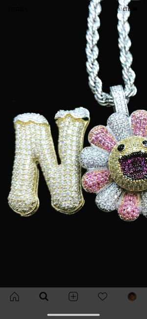 Customize bubble letter , logo , any chain any diamond color starting at 99$ for Sale in Bronx, NY