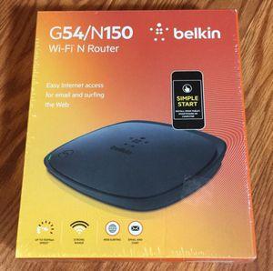 BELKIN WIFI N ROUTER N NEW IN BOX! for Sale in Puyallup, WA