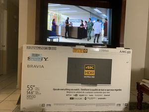 Photo Sony LCD XBR-55X850D