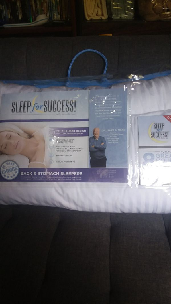 a2859c1274 Sleep for Success pillow for Sale in Durham