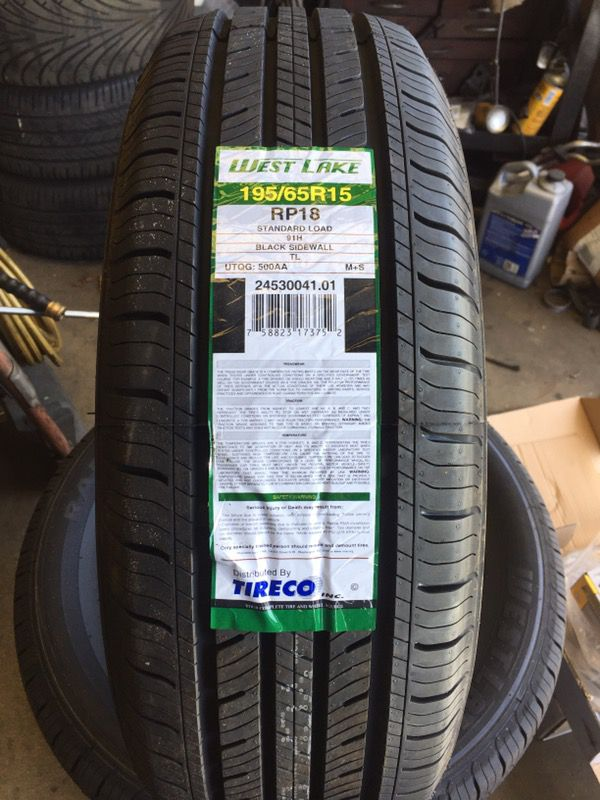 195 65 15 Westlake Rp18 New Tires For Sale In Los Angeles Ca