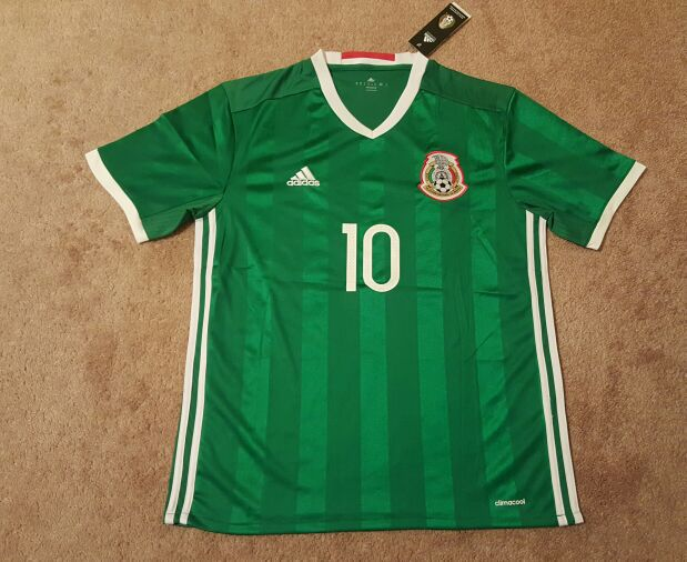 New 2016 Adidas Mexico Soccer jersey 3XL 4XL plus sizes for Sale ...