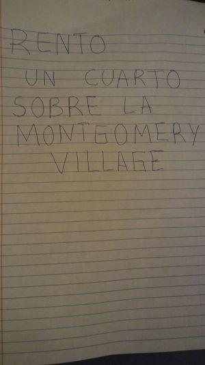 Rento UN CUARTO for Sale in Montgomery Village, MD