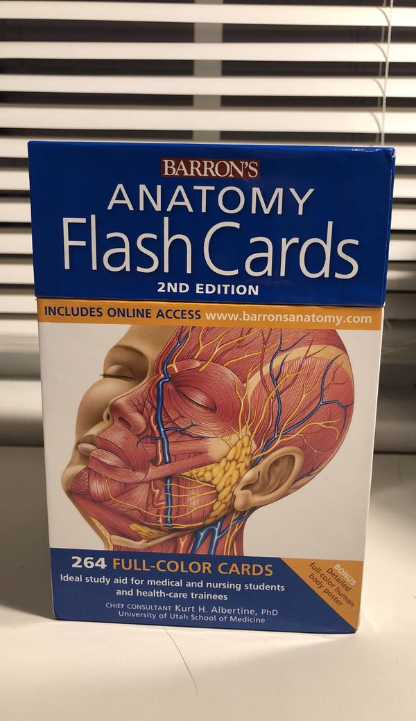 Anatomy Flash Cards Books Magazines In Oak Lawn Il Offerup